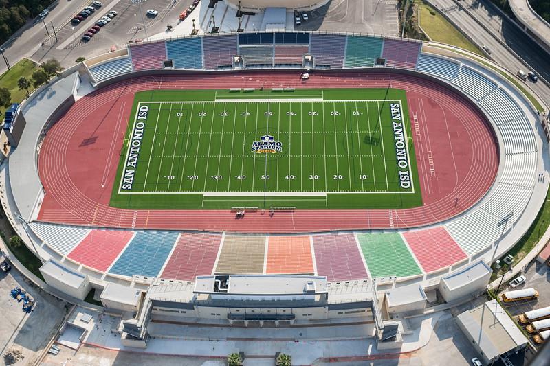 09/23/2014 092834 -- San Antonio, TX -- © Copyright 2014 Mark C. Greenberg  Alamo Stadium