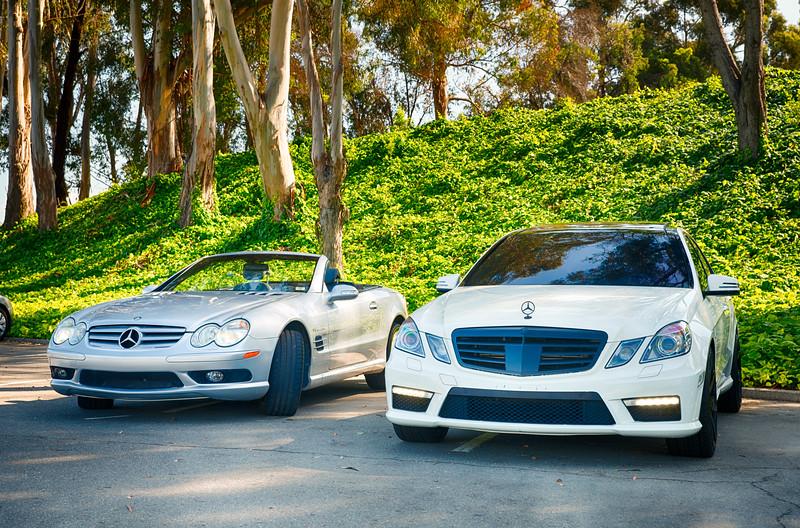 Mercedes - 2 Hot Cars