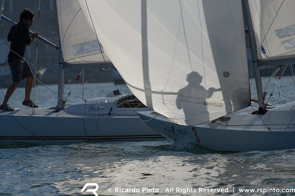Cascais Dragon Match Race'12