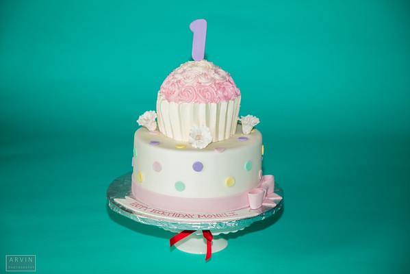 Moneli's first birthday