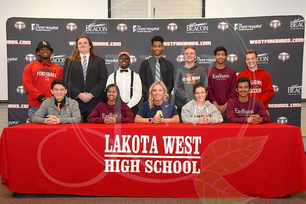 Lakota West HS Winter Signing Day (2.1.17)