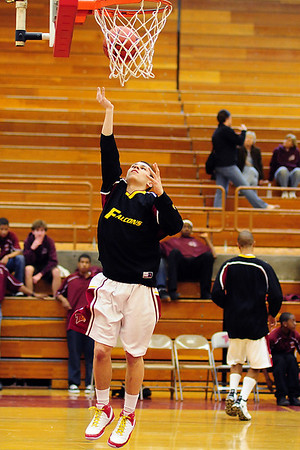 Torrey Pines Basketball vs RBV, Feb 25 09
