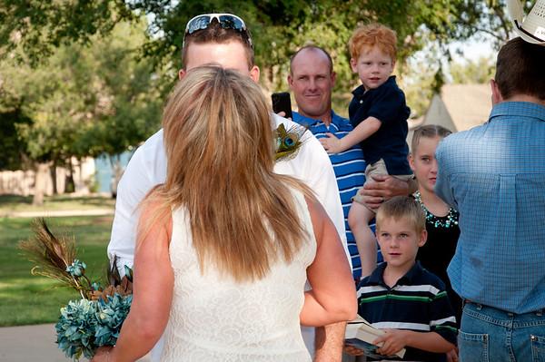 Mr. and Mrs. Josh Higdon - Ceremony