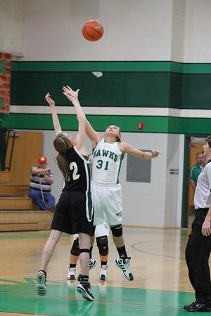 2012-Jan 8th Grade B Girls Basketball