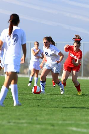 Vista Girls Soccer vs Cordova 03-15-2010