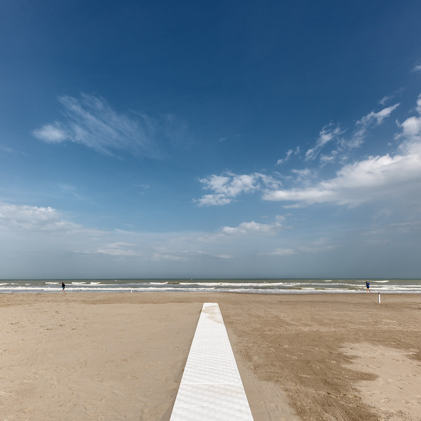 On the Beach - Milano Marittima, Cervia, Ravenna, Italy - April 24, 2019