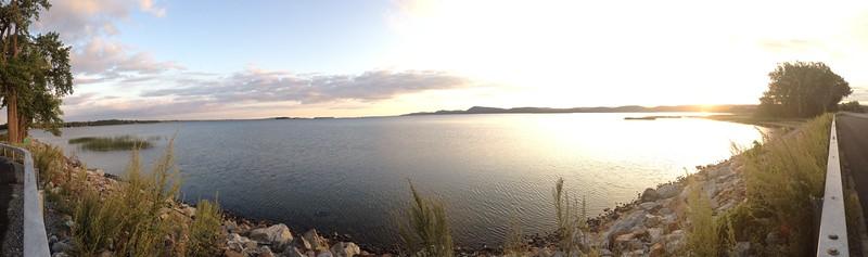 water view next to Vermont sandbar