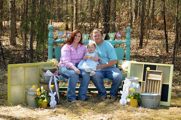 Rheagan Elizabeth-Grace & Family