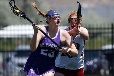 US Lacrosse Women's Collegiate Lacrosse Associates (WCLA): Denver vs St Thomas