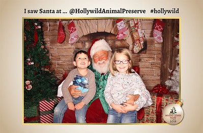 Hollywild Santa Photos - 120219