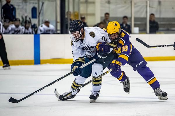 NAVY Ice Hockey vs West Chester University (11/22/2019)
