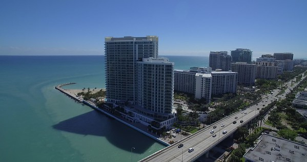 Bal Harbour Wedding Aerials