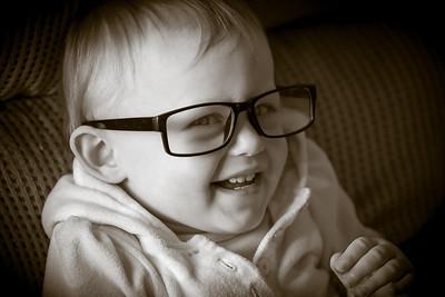 Charlotte in Glasses!