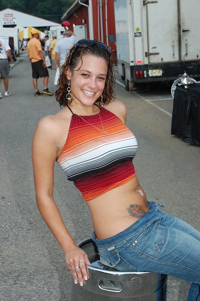 Abigail Melton - Corvettes @Carlisle Show - August 24, 2007 - Nikon D40 - Mark Teicher