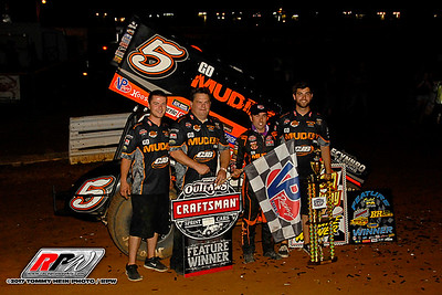 Lincoln Speedway - WoO Sprint Cars - 5/17/17 - Tommy Hein