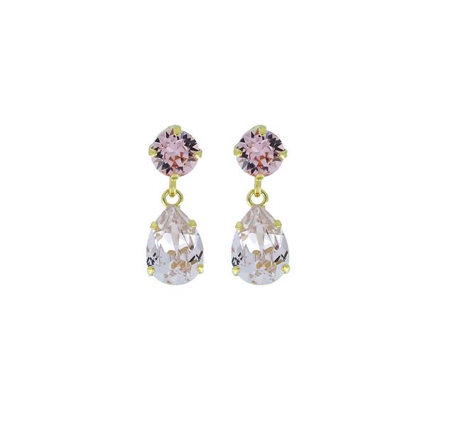 Mini Drop Earrings / Rosaline