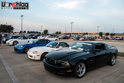 Cars and Coffee August 2013