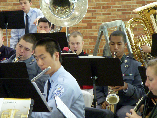 FUMA Attends Military School Band Festival