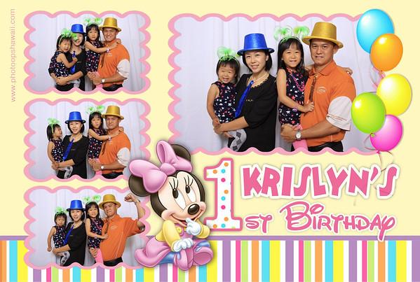 Krislyn's 1st Birthday (Fusion Portraits)