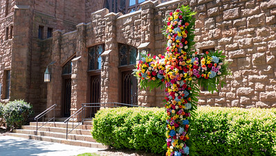 All Saints' Flowered Crosses