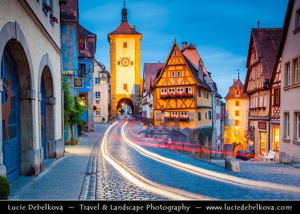 Germany - Bavaria - Historical towns