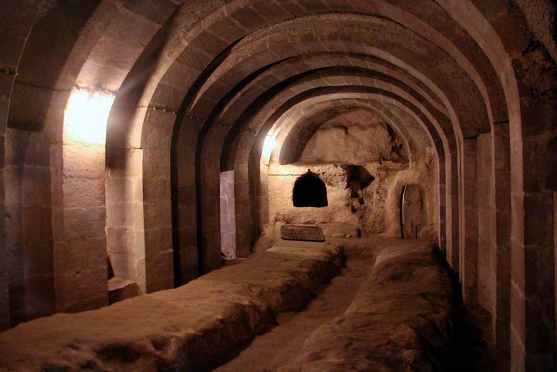 Derinkuyu Underground City - Cappadocia, Turkey