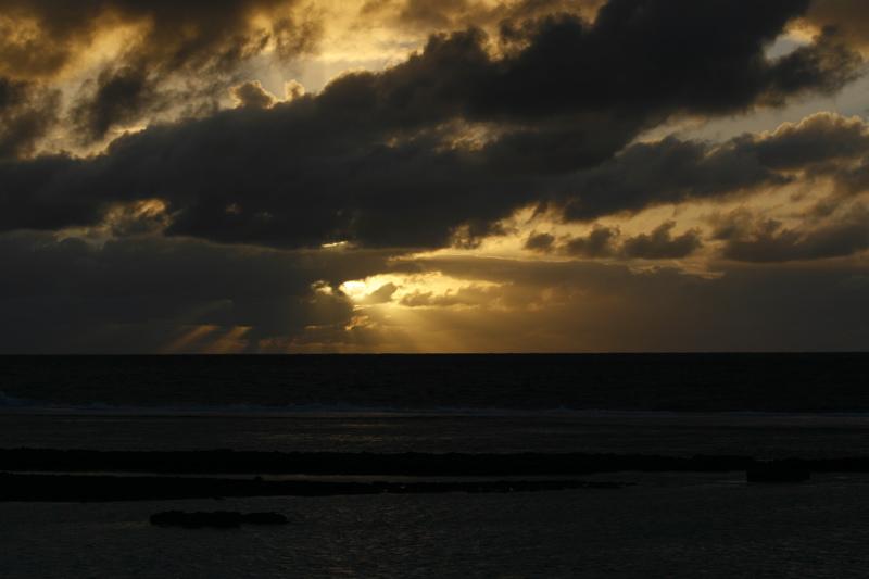 Maupiti sunset