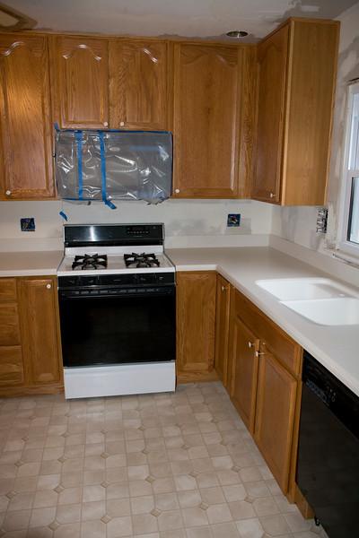 2008 Renovation of the kitchen...