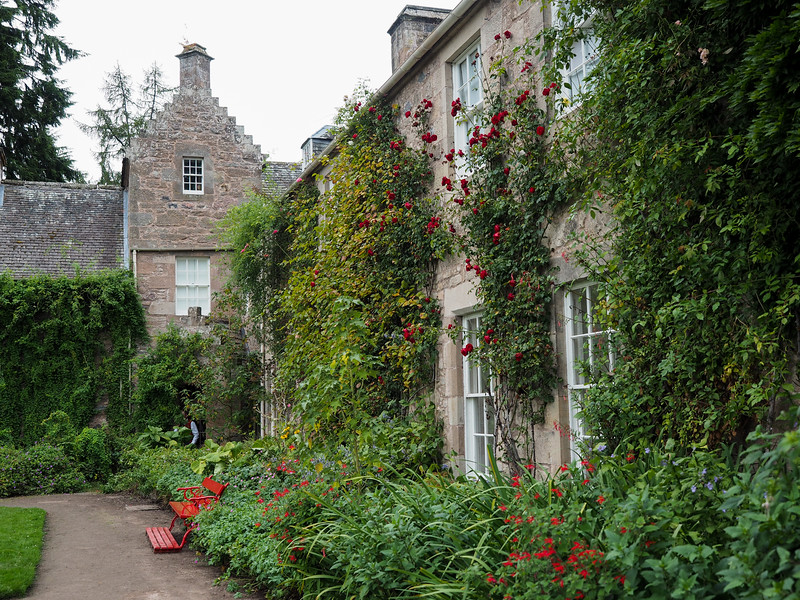 Garden at Cawdor Castle