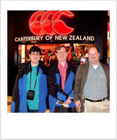 New Zealand Trip Stamps & Polaroids
