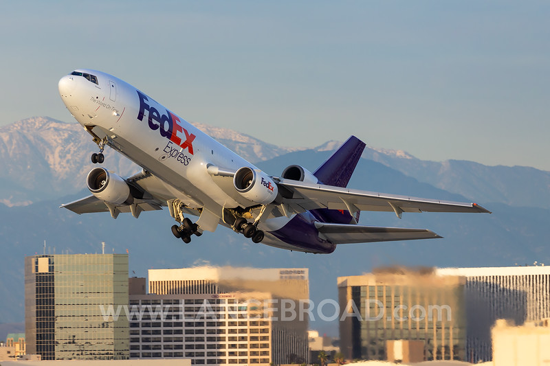 Fedex MD-10-10 - N363FE - LAX