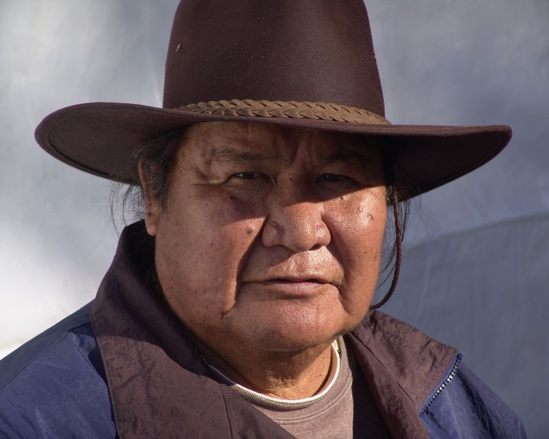 He was at the pagan pride picnic in 2005.  A Navajo named Tom currently living in Columbia, Missouri.