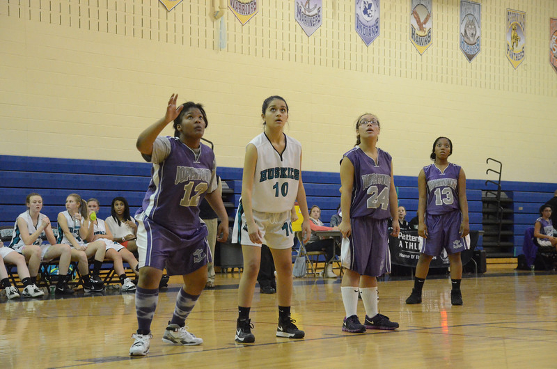 JV Girls Basketball December 5 vs Joppatowne