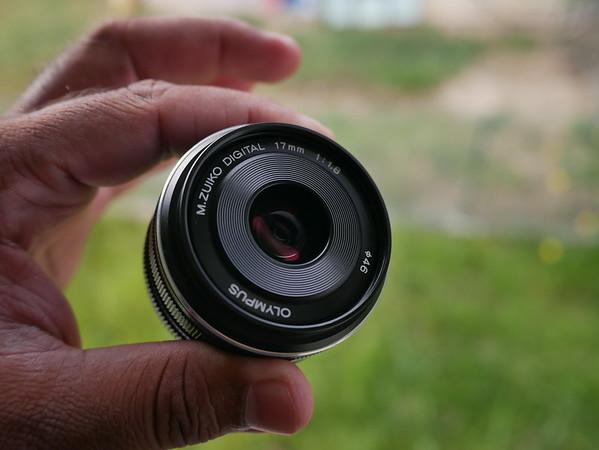 Olympus 17mm F1.8 Lens