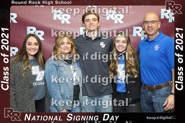RRHS National Signing Day - Class 2021