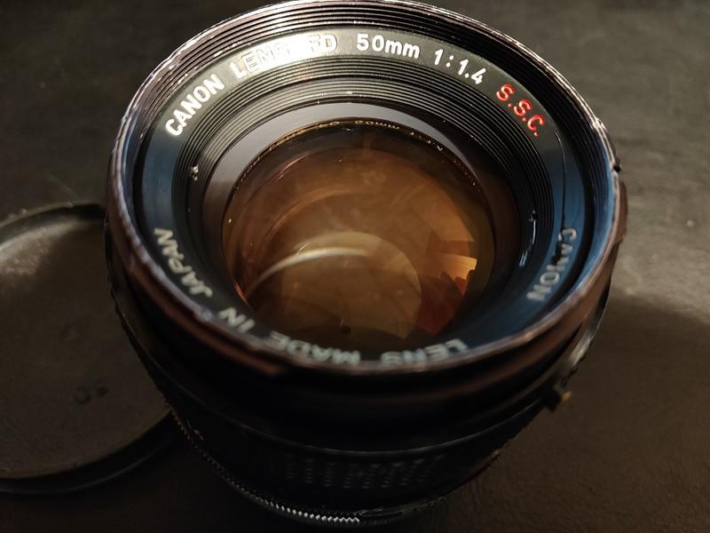 Canon FD 50 mm 1.4 S.S.C. - Serial Q1213 & 896737 006.jpg