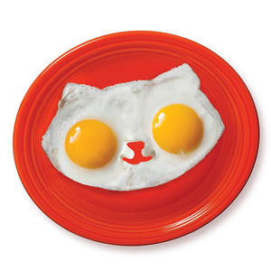 Kitty Cat Egg Mold. Gifts for Foodies and Cooks