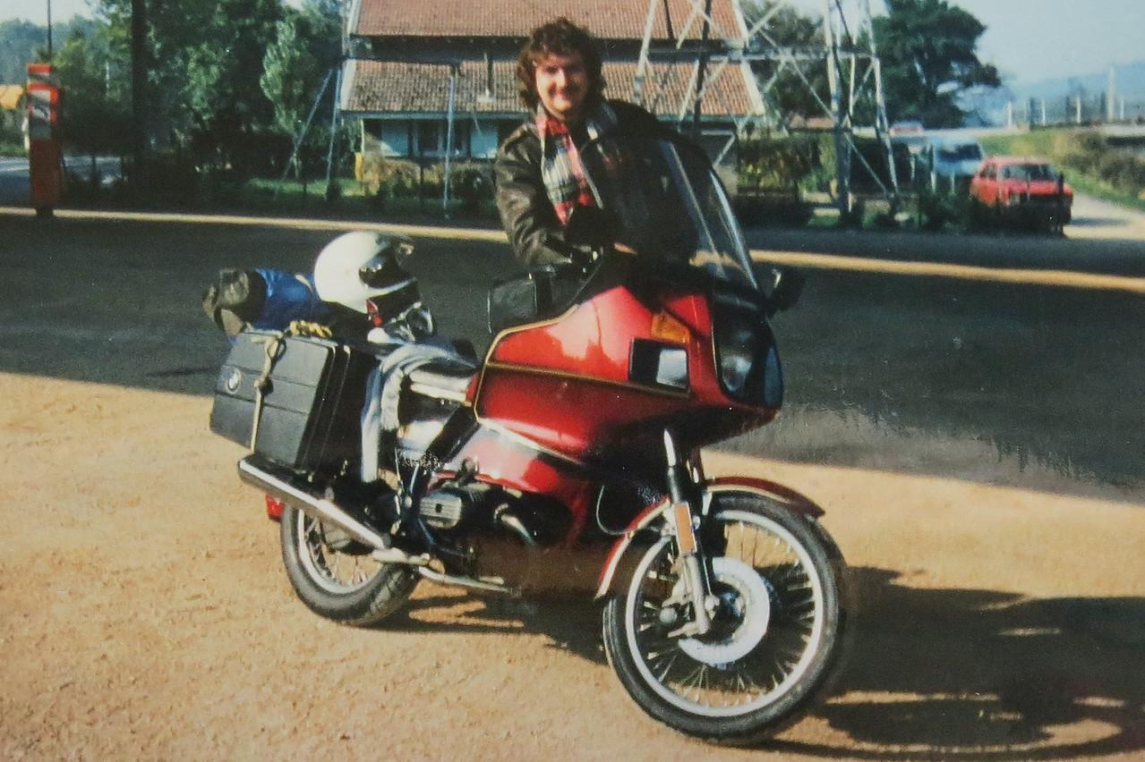 1987 M'n eerste BMW R100RT. Jammer genoeg slechts voor 6 weken