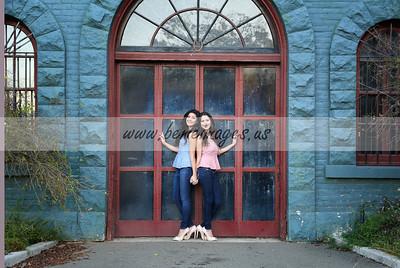 Priscilla and Analissa Pre Quince