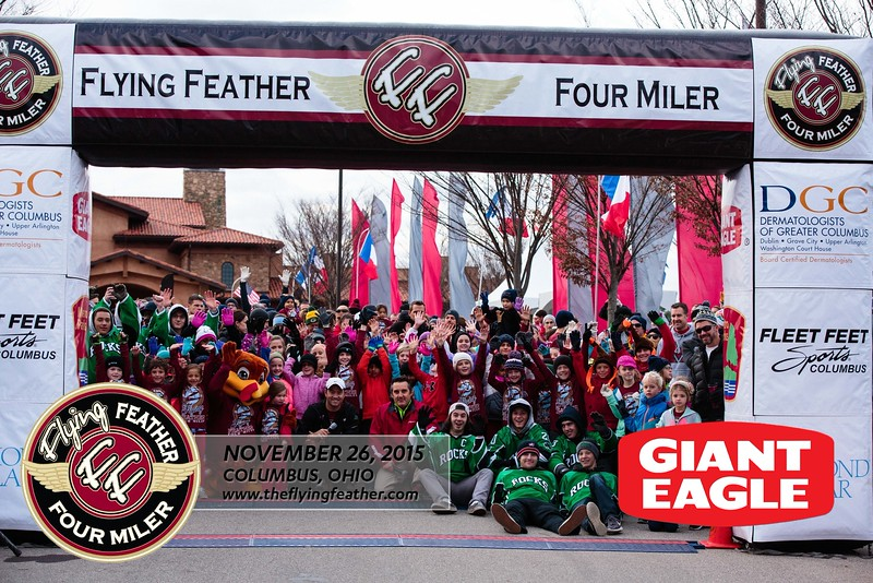 2015 Flying Feather 4 Miler RACE PHOTOS SPONSORED BY M3S SPORTS AND GIANT EAGLE