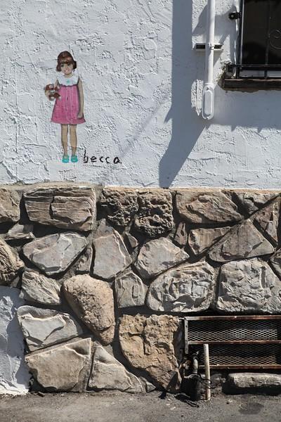 2011, Becca Street Art