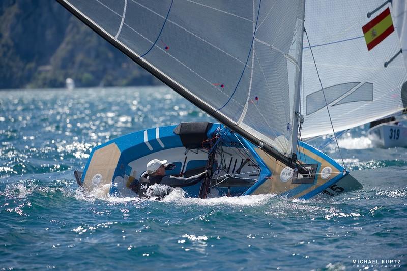 The Finn World Masters 2016 , Lake Garda, Italy