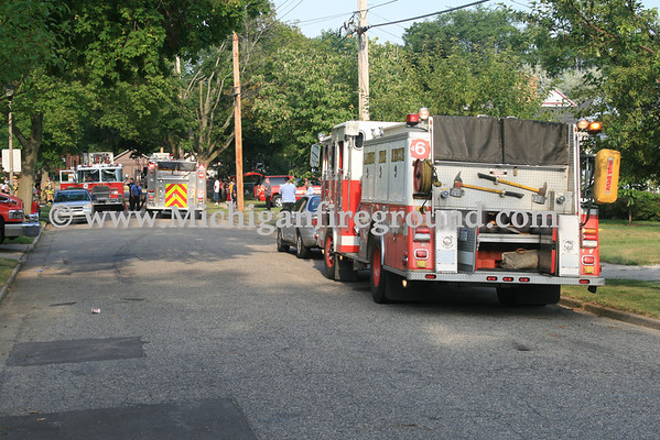 7/14/10 - Lansing house fire, 1116 George St