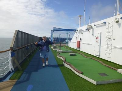 Alaska Cruise - Golf