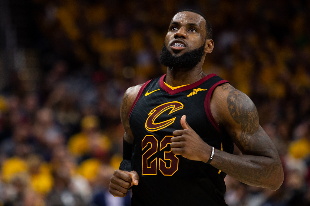 . Michael Johnson - The News-Herald Lebron James of the Cleveland Cavaliers
