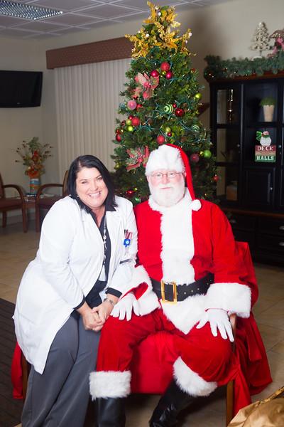 CHS Santa Visit