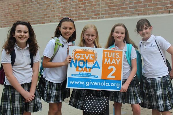 GiveNOLA Day (5.2.17)