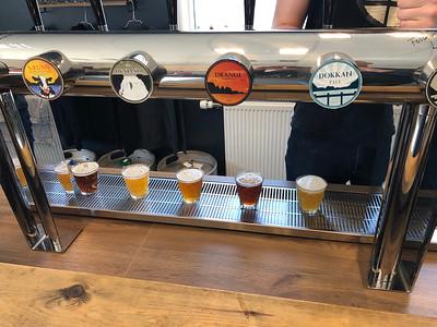6 biertjes proeven