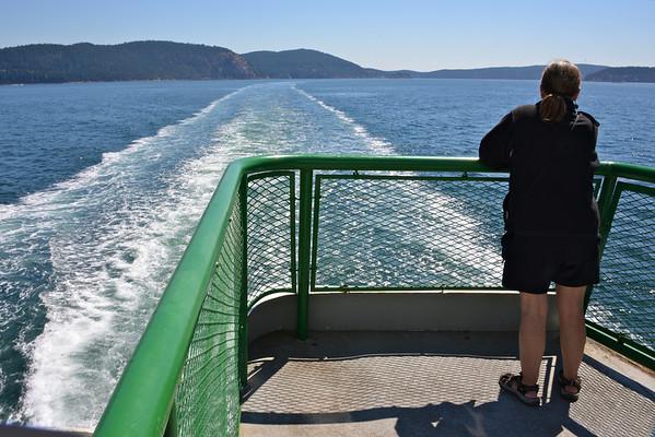 Washington State Ferry; Anacortes to Friday Harbor - August 2013