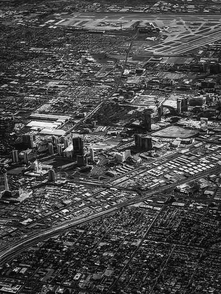 Vegas during our departure home
